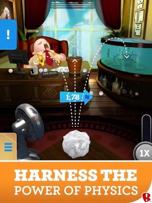 Paper Toss Boss Ipa Games iOS Download