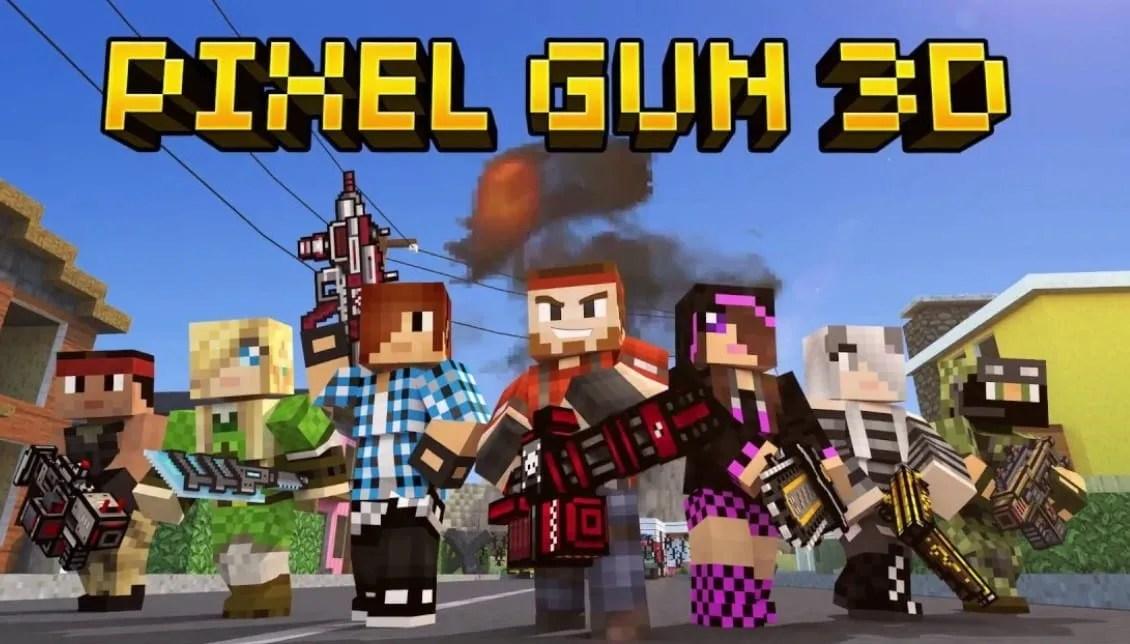 Pixel Gun 3D: Battle Royale iOS Ipa Games - Null48