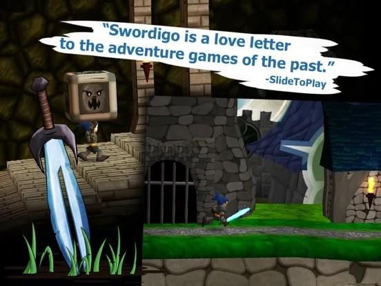Swordigo iOS