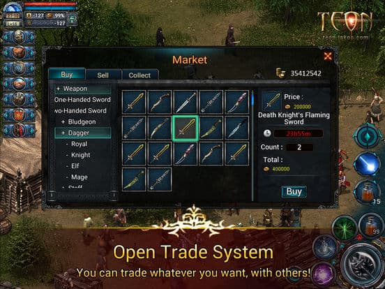 Teon – All Fair Hardcore ARPG Ipa Games iOS Download