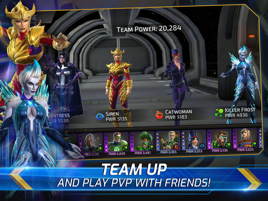 DC Legends Battle for Justice iOS