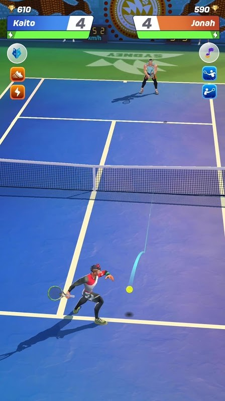 Tennis Clash Online League iOS