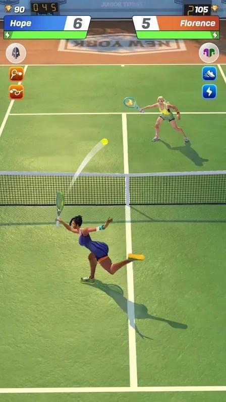 Tennis Clash Online League iOS