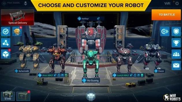 War Robots Multiplayer Battles iOS