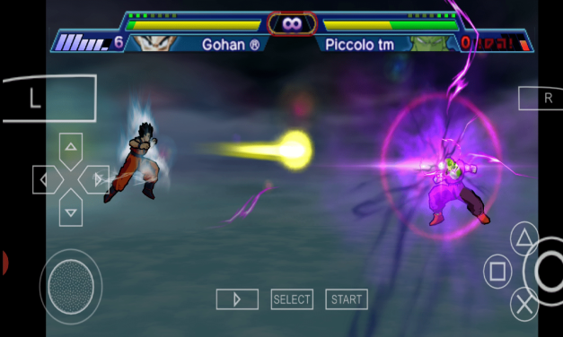 Dragon Ball Z Shin Budokai PPSSPP Download