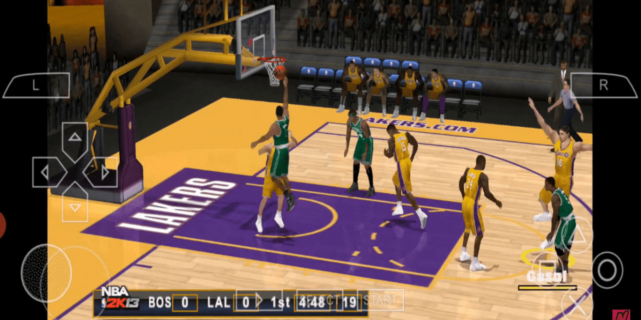 Download NBA 2K13 On PPSSPP For Android & iOS – ISO USA