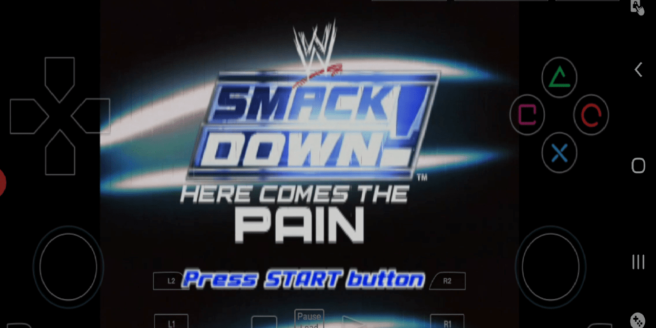 Download WWE SmackDown! Here Comes the Pain For Android Using DamonPS2