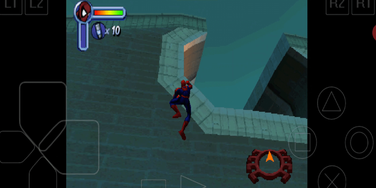 Spider Man PS1 Emulator Android Download (ePSXe)