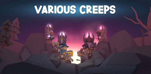 Various Creeps – offline anti-moba action strategy Android
