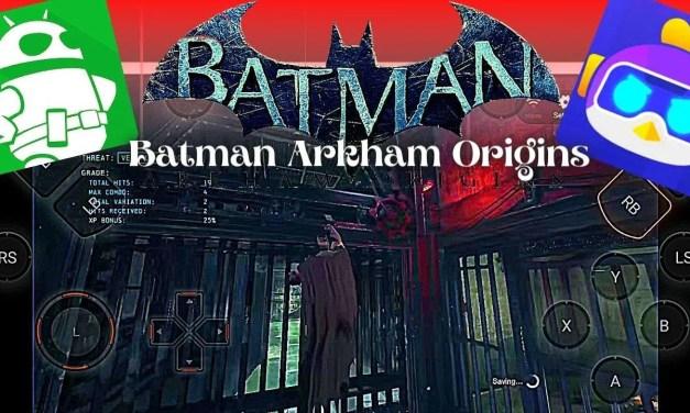 Batman Arkham Origins Android APK Data Highly Compressed Download