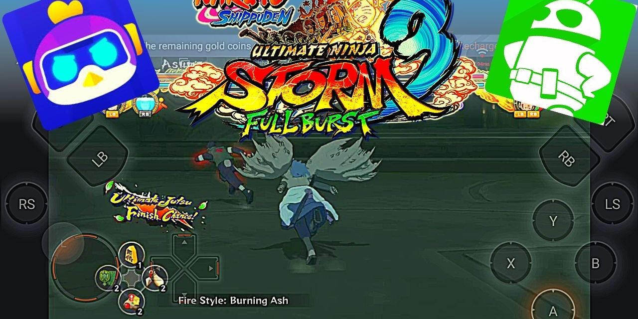 Naruto Shippuden Ultimate Ninja Storm 3 Mobile Android Download