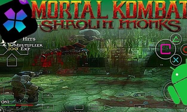 Mortal Kombat Shaolin Monks Android APK DATA – Damon Ps2