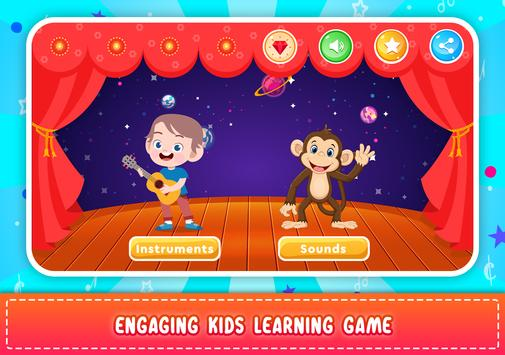 Kids Piano: Animal Sounds & musical Instruments Android