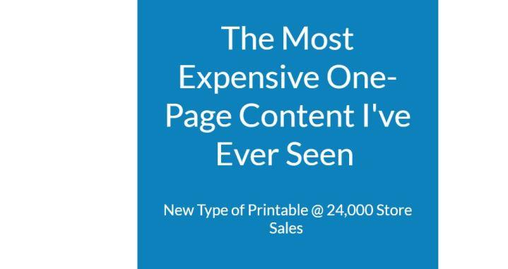 [GET] High-Value Printable Profits