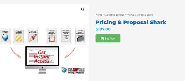 [GET] Pricing & Proposal Shark
