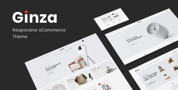 [1.0.5] Ginza Nulled – Furniture Theme for WooCommerce WordPress v.1.0.4
