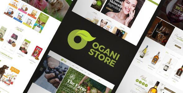 Ogani Nulled [1.2.9] Organic Food Store Theme for WooCommerce WordPress