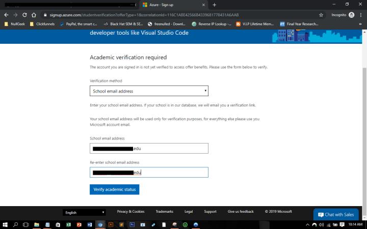 Microsoft Azure Student