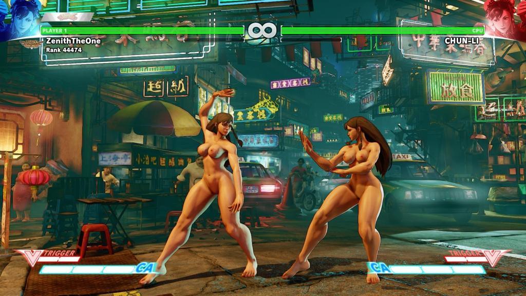 street fighter 5 nude mods