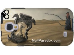 Null Paradox Samsung Galaxy S4 Case: Gertrude & Grace series