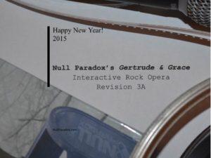Null Paradox G2 interactive rock opera