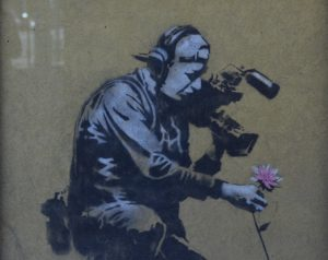 Banksy in Park City, Utah