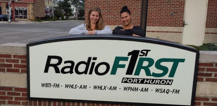 Null Paradox interview on WPHM radio Michigan Port Huron Lexington. Paul Miller, Robyn Christine, Rachel Matz, Tom Libertiny. Photography by Tom Libertiny