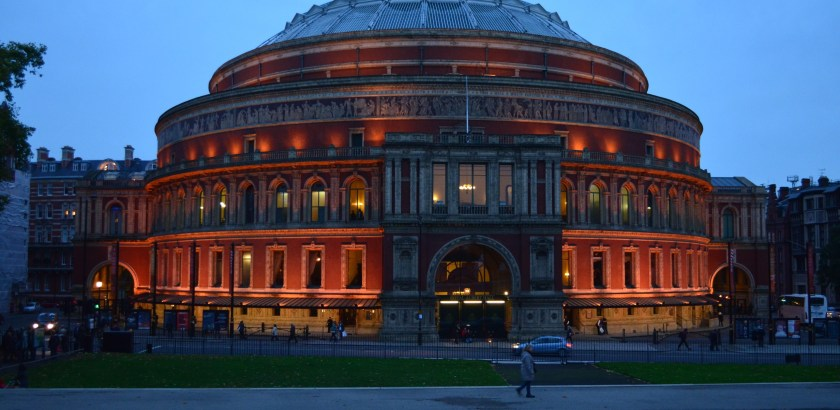 Royal Albert Hall, London, with Null Paradox. Photography by Tom Libertiny.