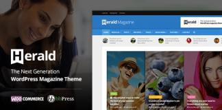 Herald - Newspaper and News Portal WordPress Theme Free Download