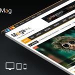 Mega Mag - Responsive Magazine Blogger Template Free Download