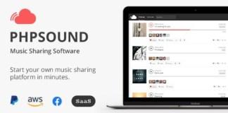 phpSound Music Sharing Platform Nulled PHP Script
