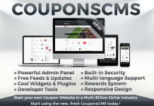 Coupons CMS 7 Null PHP Script Free Download