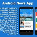 Android News App Source Code Download Codecanyon 10771397