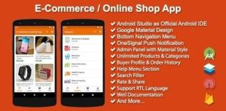 E-Commerce Online Shop App Source Code