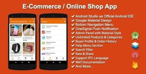 E-Commerce Online Shop App Source Code