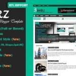 Ijonkz Responsive Magazine News Blogger Template Free Download