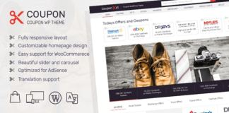 MyThemeShop Coupon WordPress Theme Free Download