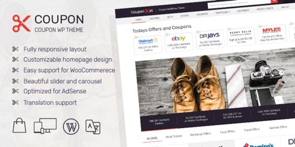 MyThemeShop Coupon WordPress Theme Free Download