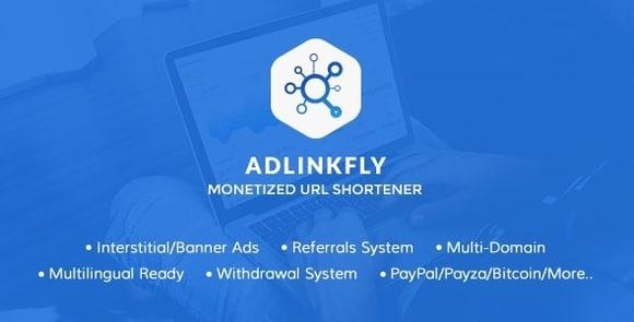 AdLinkFly Monetized URL Shortener Nulled