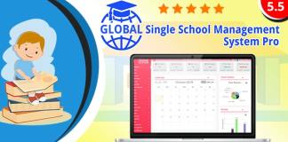 Global Single School Management System Pro Nulled
