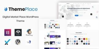 ThemePlace Marketplace WordPress Theme Nulled