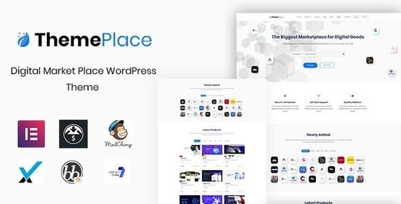 ThemePlace Marketplace WordPress Theme Nulled