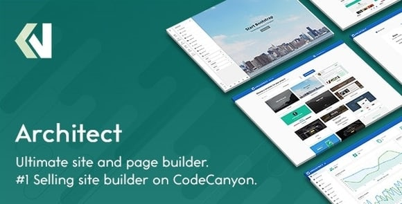 Architect HTML and Site Builder Nulled PHP Script