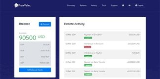 ProWallet - Electronic Online Wallet Nulled PHP Script