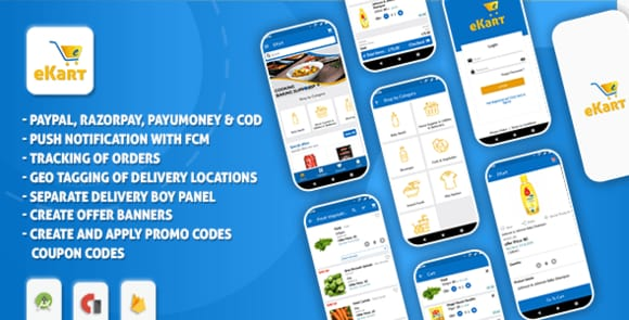 eKart - Android e-commerce App Source Code Nulled
