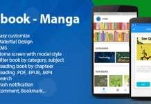 Ebook - Manga - Comic Android App Source Code