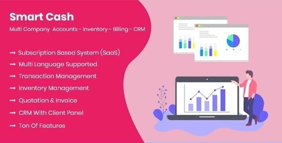 Smart Cash - Multi Company Accounts Billing & Inventory (SaaS) Nulled