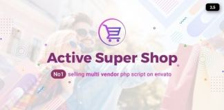 Active Super Shop Multi-vendor CMS Nulled Script