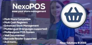 NexoPOS - Extendable PHP Point of Sale Nulled