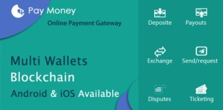 PayMoney - Secure Online Payment Gateway - Exchange and Wallet Script